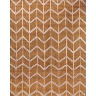 "Moroccan Hudson Handmade Woolen Area Rug Oriental - 8'0"" x 10'0"""