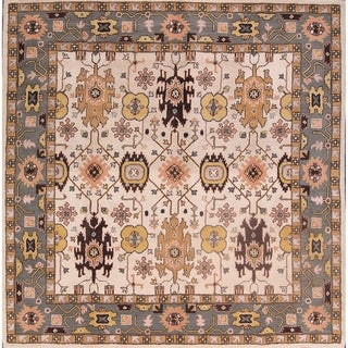 "Gracewood Hollow Dila Handmade Floral Area Rug - 10'3"" x 10'0"" square"