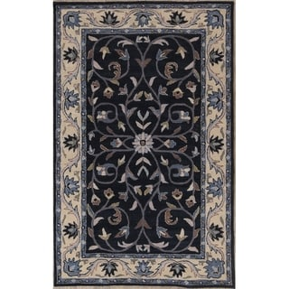 """Copper Grove Dianalund Medallion Oushak Hand-tufted Wool Oriental Floral Area Rug - 5'0"""" x 8'0"""""""