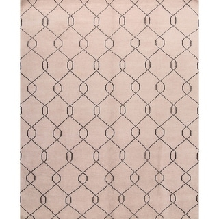 "Porch & Den Carlyle Moroccan Geometric Hand-made Oriental Area Rug - 8'0"" x 10'0"""