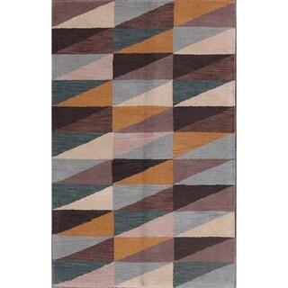 "Carson Carrington Kutbo Wool Oriental Modern Area Rug - 8'0"" x 5'1"""