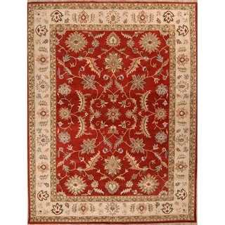 "Copper Grove Maribo Hand-tufted Wool Oriental Medallion Area Rug - 11'0"" x 8'0"""