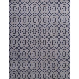"""Porch & Den Canterwood Hand-made Moroccan Trellis Oriental Area Rug - 12'0"""" x 9'0"""""""