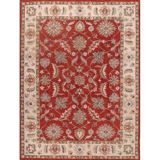 "Gracewood Hollow Siradegh Made Blend Traditional Oushak Oriental Rug - 11'1"" x 8'0"""