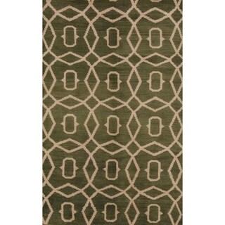 "Copper Grove Skaerbaek Handmade Oushak Oriental Moroccan Area Rug - 7'10"" x 4'11"""