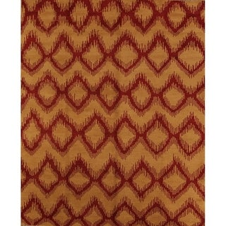 """Moroccan Traditional Hand Made Trellis Oriental Area Rug - 9'10"""" x 8'3"""""""