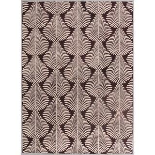"""Oushak Agra Oriental Handmade Floral Area Rug - 11'1"""" x 8'1"""""""