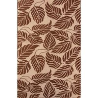 """Oushak Traditional Agra Oriental Hand Made Floral Area Rug - 7'10"""" x 4'11"""""""
