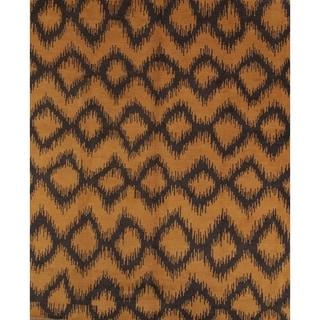 "Moroccan Traditionla Handmade Trellis Oriental Area Rug - 9'10"" x 8'3"""