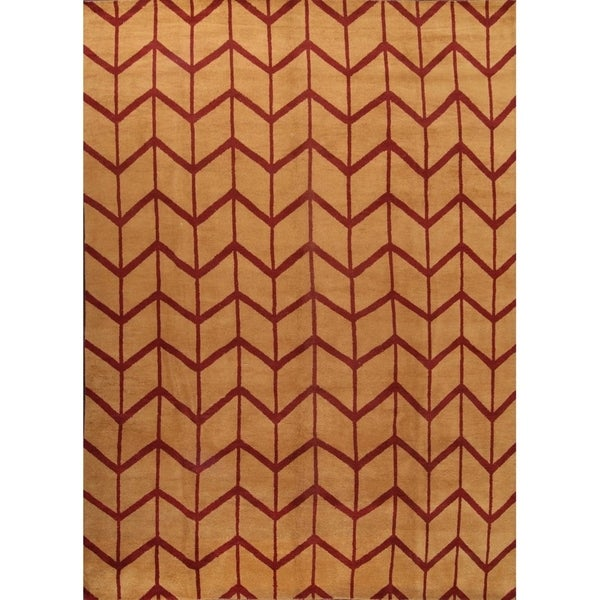 "Traditiona Hand Made Moroccan Oriental Geometric Area Rug - 10'0"" x 14'0"""
