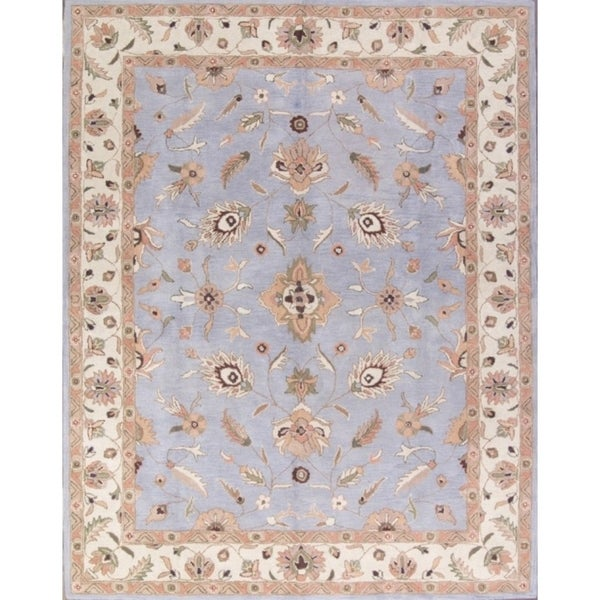 Shop Traditional Hand Tufted Wool Agra Indian Oriental