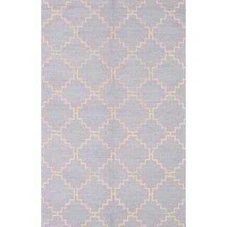 "Moroccan Trellis Hand Tufted Oriental Modern Area Rug - 12'0"" x 9'1"""