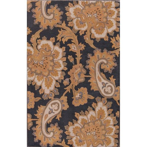 """Oushak Agra Hand Made Traditional Oriental Area Rug - 8'0"""" x 5'1"""""""