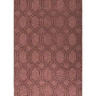 "Porch & Den Wilma Hand-made Moroccan Trellis Area Rug - 8'0"" x 11'0"""
