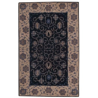"""Copper Grove Ringsted Hand-tufted Floral Oriental Traditional Area Rug - 13'1"""" x 9'8"""""""