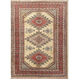 """Ardebil Oriental Hand Knotted Wool Persian Traditional Area Rug - 6'2"""" x 4'7"""""""