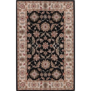 "Gracewood Hollow Sokolyan Hand-tufted Floral Oriental Area Rug - 8'0"" x 5'0"""