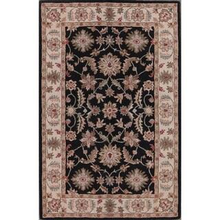 "Gracewood Hollow Sokolyan Hand-tufted Floral Oriental Area Rug - 8'0"" x 5'0"""