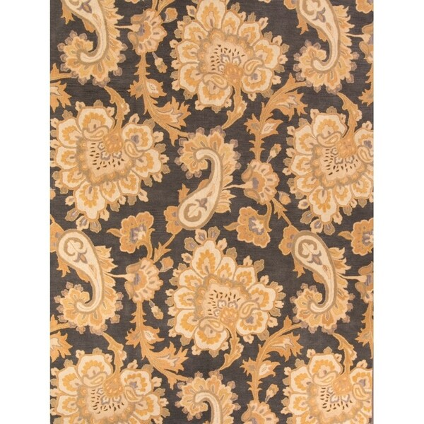 Gracewood Hollow Madi Made Blend Tabriz Floral Rug - 12' x 9'