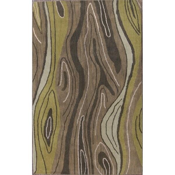 "Carson Carrington Kubikenborg Oriental Modern Area Rug Tribal Carpet - 8'0"" x 5'0"""
