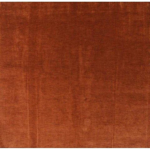 "Porch & Den Sunridge Hand-knotted Wool Tribal Gabbeh Area Rug - 9'9"" Square"