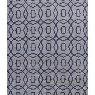 "Porch & Den Canterwood Wool Handmade Moroccan Area Rug - 8'0"" x 10'0"""