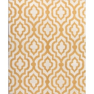 "Porch & Den Wills Hand-tufted Moroccan Trellis Area Rug - 10'0"" x 8'0"""
