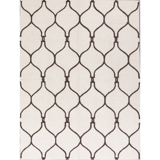 Copper Grove Slagelse Hand-tufted Modern Moroccan Traditional Trellis Oriental Area Rug - 8' X 11'