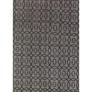 """Porch & Den Canterwood Hand-made Moroccan Trellis Oriental Area Rug - 13'1"""" x 9'10"""""""