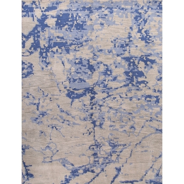 "Strick & Bolton Misia Abstract Handmade Wool Area Rug - 12'0"" x 9'0"""