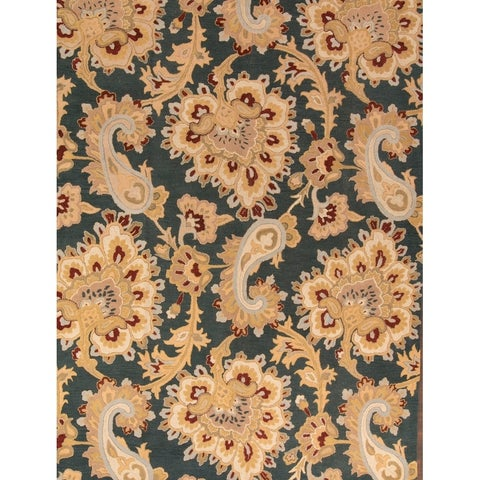 Copper Grove Farum Hand-tufted Traditional Floral Indian Oriental Area Rug - 12' x 9'