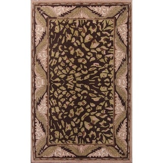 "Traditional Hand Made Oushak Indian Agra Oriental Area Rug - 8'0"" x 5'0"""