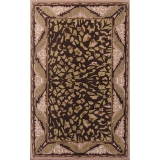 """Link to Traditional Hand Made Oushak Indian Agra Oriental Area Rug - 8'0"""" x 5'0"""" Similar Items in Rugs"""