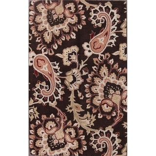 """Link to Traditional Hand Made Oushak Agra Oriental Floral Area Rug - 8'0"""" x 5'0"""" Similar Items in Rugs"""