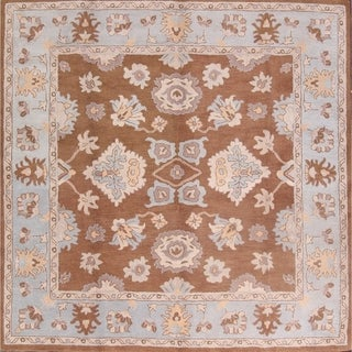 "Gracewood Hollow Levytsky Handmade Oriental Square Rug - 10'1"" x 10' square"