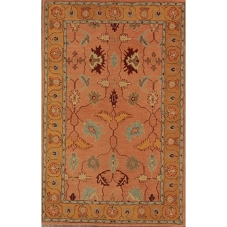 "Gracewood Hollow Stefanyk Hand-tufted Brown Area Rug - 8'0"" x 5'2"""
