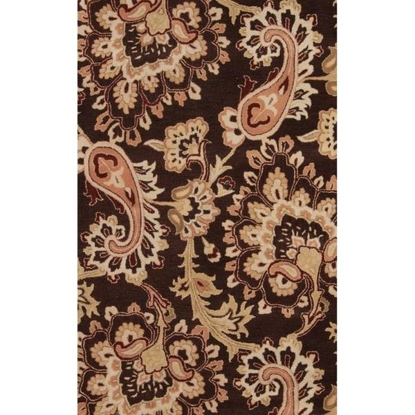 "Copper Grove Sonderso Oushak Oriental Hand-tufted Wool Floral Heirloom Item Area Rug - 8'0"" x 10'11"""
