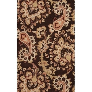 "Copper Grove Sonderso Oushak Oriental Hand-tufted Wool Floral Heirloom Item Area Rug - 8'0"" x 10'11"""