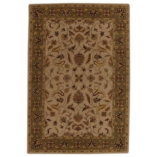 """Copper Grove Latsia All-over Floral Oushak Hand Tufted Oriental Area Rug - 8'2"""" x 5'3"""""""