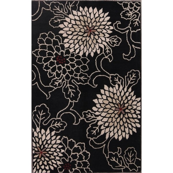 "Carson Carrington Kuntmatt Oriental Transitional Floral Area Rug - 7'11"" x 5'0"