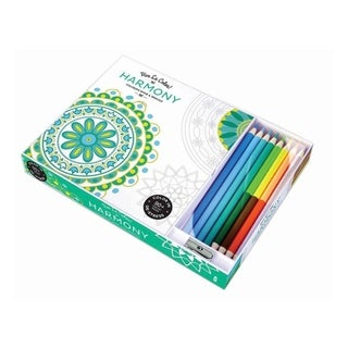 Vive Le Color Harmony Giftable Adult Coloring Book Color Therapy Kit