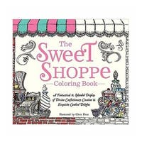 Charming Whimsical Old Fashioned Sweet Shoppe Coloring Book - N/A