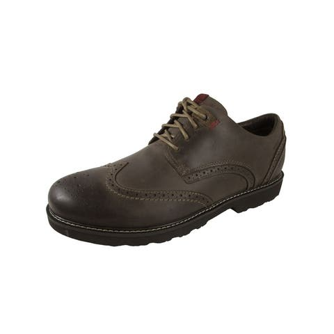 Dunham Mens REVDare Wingtip Oxford Shoes