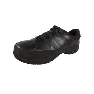 Dunham Mens Lexington Steel Toe Lace Up Shoes