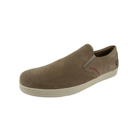 Dunham Mens Colchester Slip On Sneaker Shoes