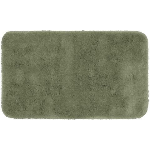 Finest Luxury Deep Fern Ultra Plush Washable Bath Rug Runner