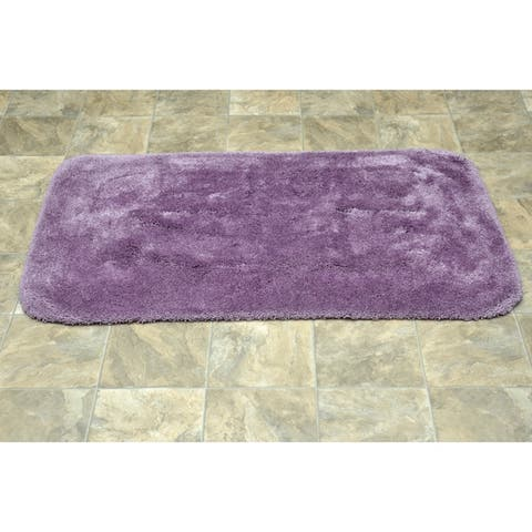 Finest Luxury Purple Ultra Plush Washable Bath Rug Runner