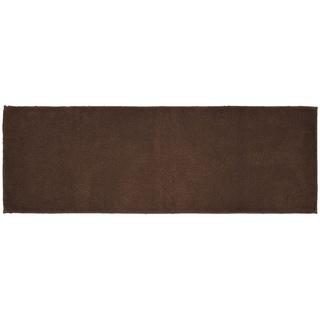 Queen Cotton Chocolate  Washable Bath Rug Runner