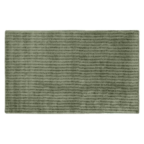 Sheridan Deep Fern Plush Washable Nylon Bath Rug Runner
