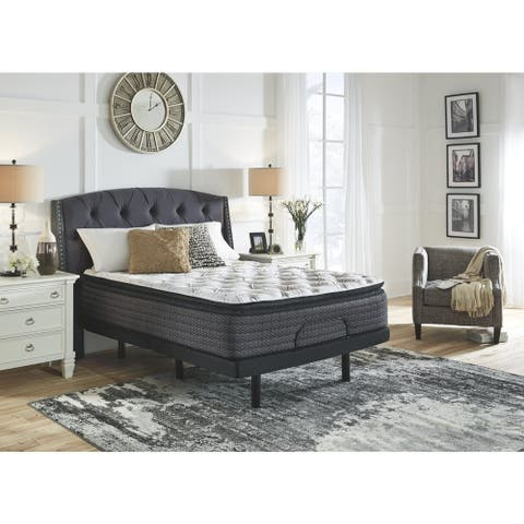 Signature Design by Ashley Limited Edition 14-inch Pillow Top Hybrid Mattress - N/A